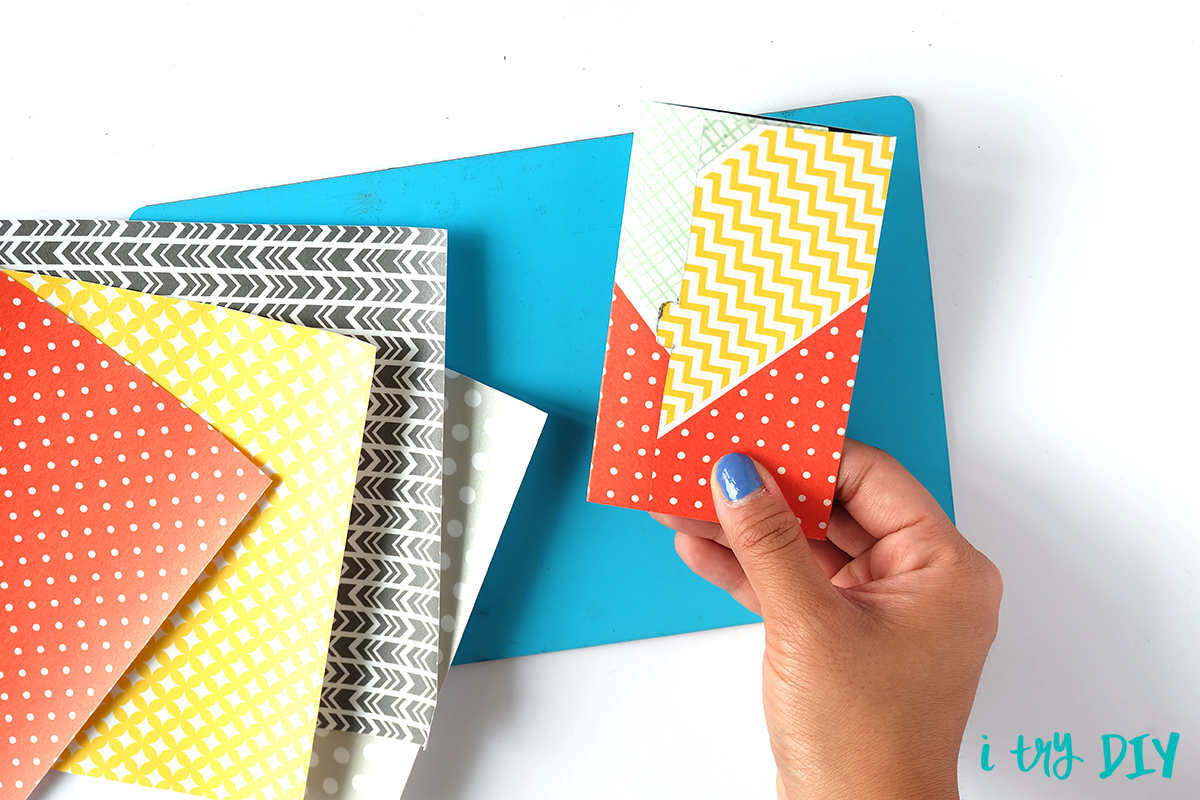 I Try DIY | #InstaxAndCrafts Pocket Notebook at the SM Stationery Art Fest