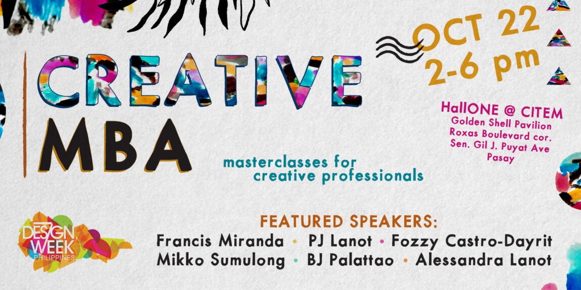 Creative MBA at Design Week Philippines