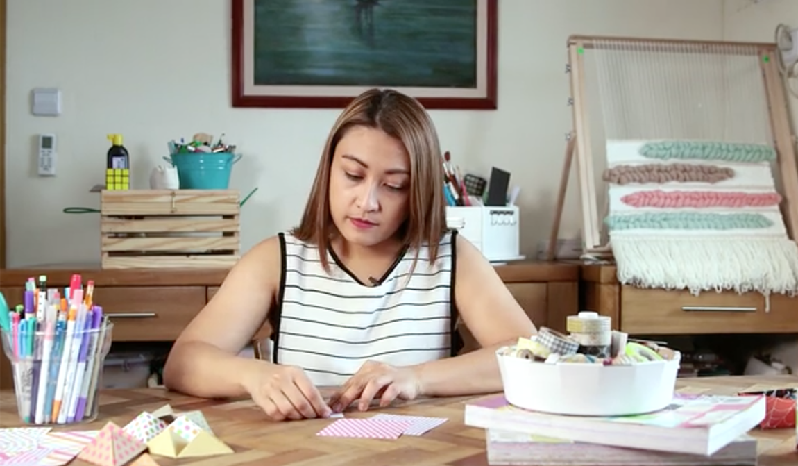Mikko Sumulong - Origami Crafts with Probe Production Inc's Handmade