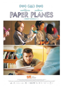 I Try DIY | Mix-Modern-Outline-and-Mix-Striped-on-Paper-Planes-Poster-Image